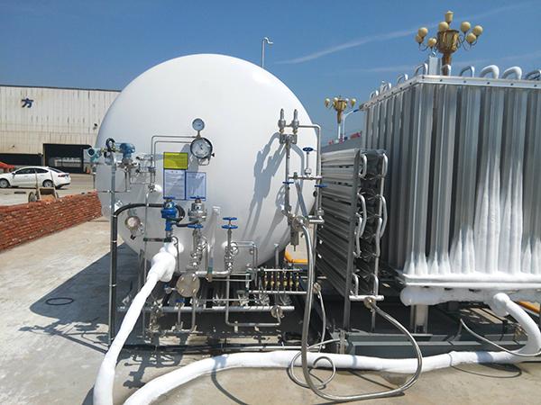使用液化天然气LNG的注意事项